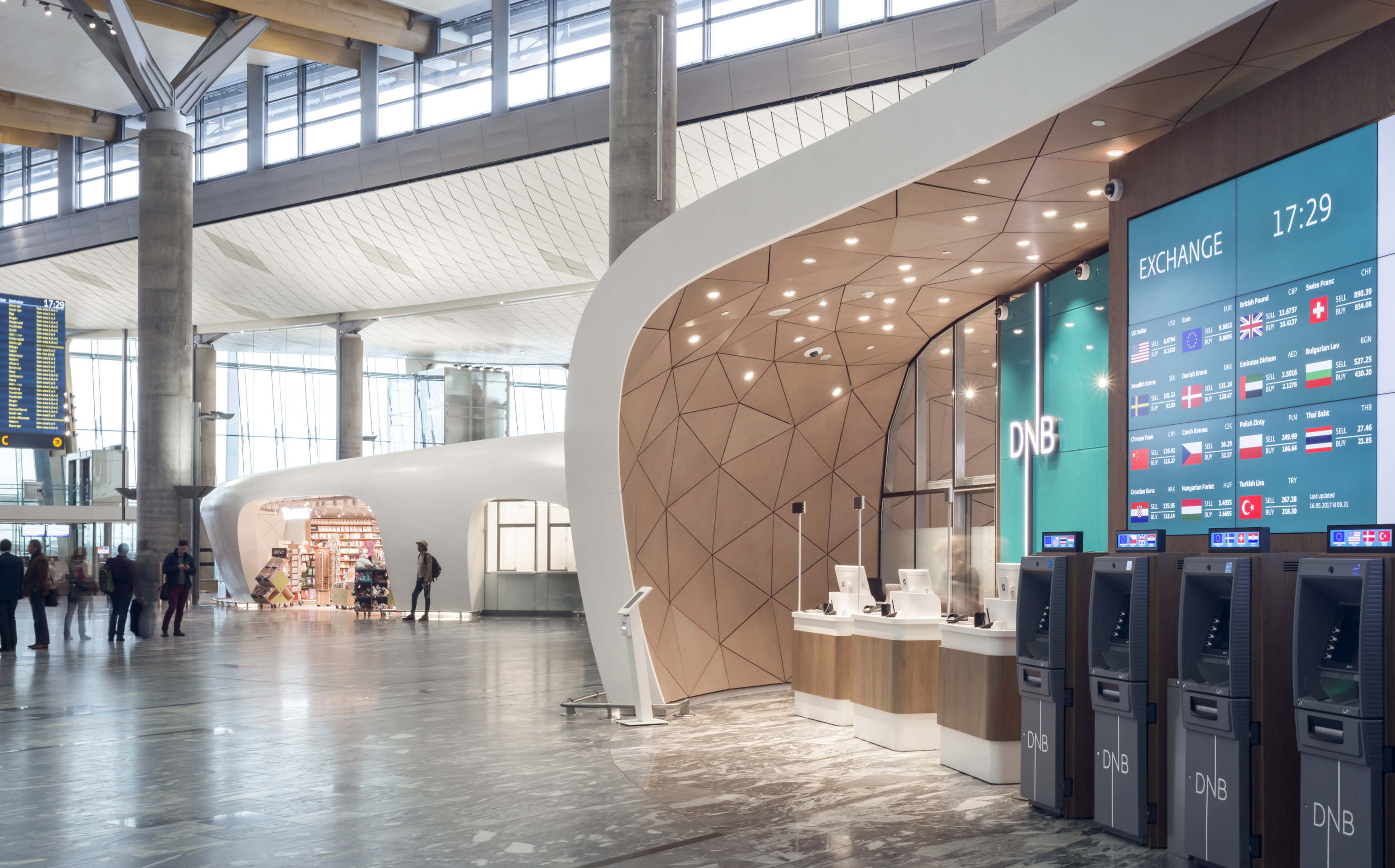 Banking services - Oslo Airport - Avinor