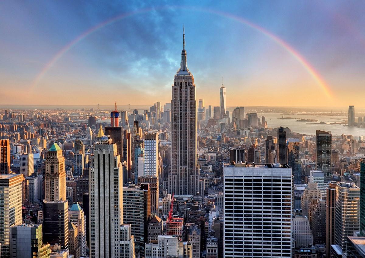 #9E682D Dette års Opplev New York Avinor Gør Det Selv New Yorker Væg 5801 12008495801
