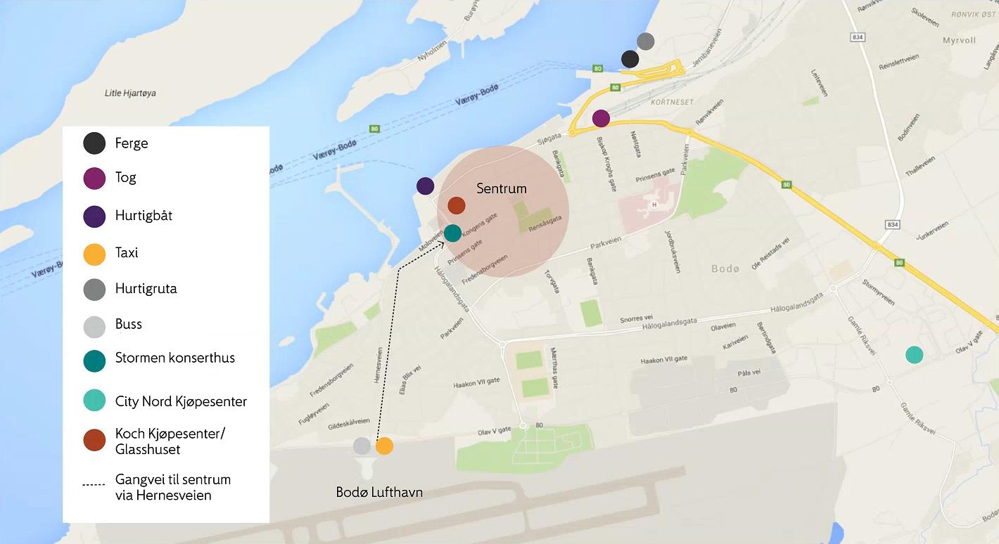 kart svolvær sentrum Tog, buss og taxi   Bodø lufthavn   Avinor kart svolvær sentrum