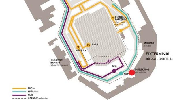 kart over værnes lufthavn Viktig akkurat nå   Avinor kart over værnes lufthavn